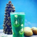 spirulina + kiwi + banan ...