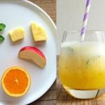 ananas + pomarancza + jab...