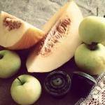melon + papierowki + sok ...