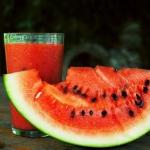 arbuz + truskawki