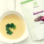 quinoa + banan + pomaranc...