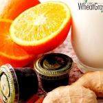 pomarańcza + mleko +...