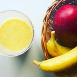 banan + mango + mleko mig...