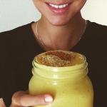 mango + banan + olej...