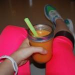 dynia + banan + pomarancz...