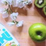 jabłko + kiwi + woda...