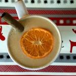 mandarynki + sok z malin ...