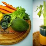 mango + trawa pszeniczna ...