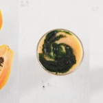 papaja + spirulina +...