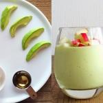awokado + jablko + miod +...