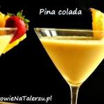 ananas + mleko kokosowe...