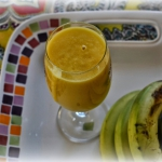 mango + banan + woda koko...