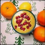 mango + banan + pomarancz...
