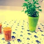 mango + brzoskwinia