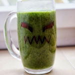 Halloween i zielony kokta...