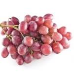 ananas + czerwone winogro...