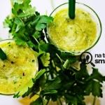 zielona herbata + natka...