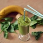 zielone smoothie. pij na...