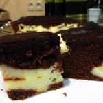 Ciasto Serowo-czekoladowe