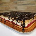 Ciasto Mus Truskawkowy