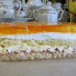 Ciasto Pomarango