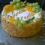 Tort kajmakowo - waniliow...