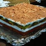 Ciasto smietankowo-owocow...