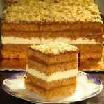 Ciasto Miodek s....