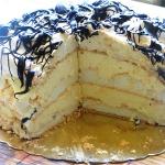 Tort bezowy Tropicana