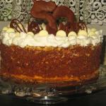 Tort czekoladowo-smietank...
