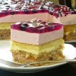 Ciasto Borówkowe pole