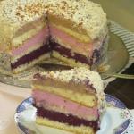 Tort owocowy z mascarpone