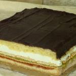 Kolorowe ciasto  Rajskie...