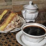 Tort  Makowa mocca