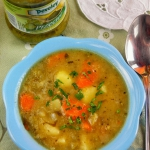 Szybka zupa ogórkowa