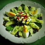 Salatka z marynowanych zi...