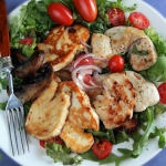 Obiadowa salatka z kurcza...