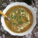 Pyszna zupa z zoltej cuki...
