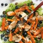 Salatka z grillowana dyni...
