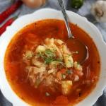 Pikantna zupa z białej...