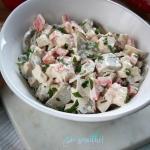 Salatka z indykiem i korn...