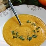 Zupa - sos z zoltych pomi...