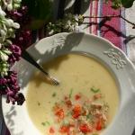 Zupa z cukinii z koprem w...