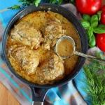 Kurczak  duszony w sosie ...