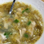 Zupa z pora i brokula