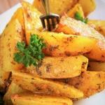 Pieczone ziemniaki curry ...