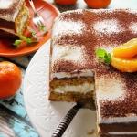 Tort mandarynkowy z...