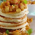 Pancakes z jabłkami...