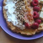 673. Migdałowy omlet z...