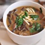 Zupa z suszonych grzybow ...